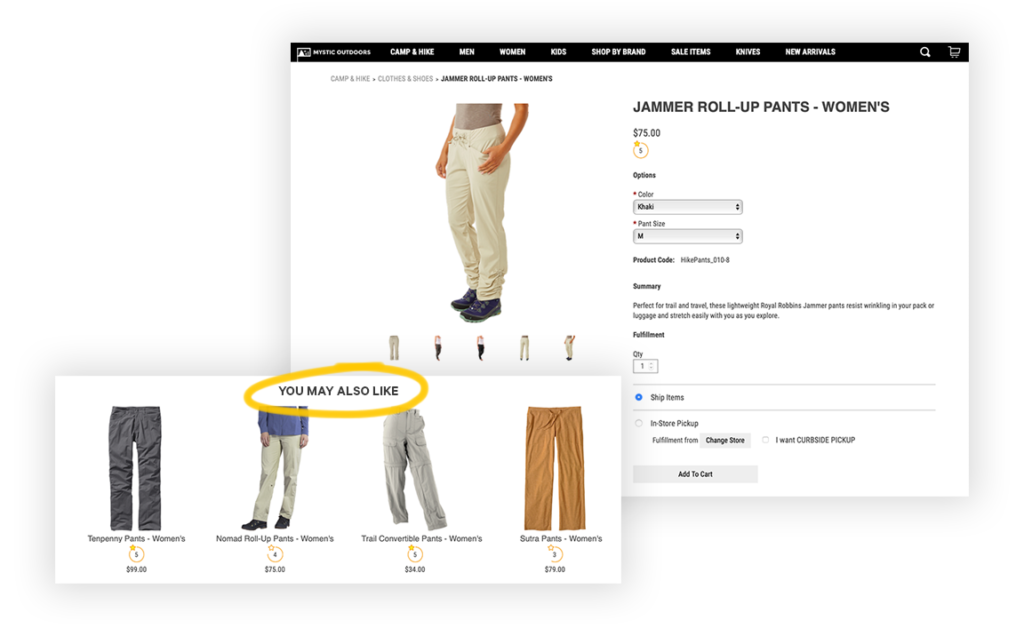 product recommendations personalization monetate